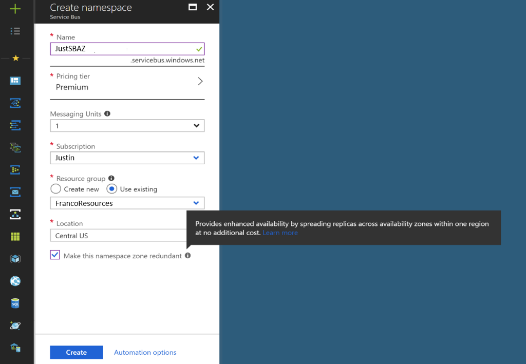 Azure Service Bus and Azure Event Hubs expand availability