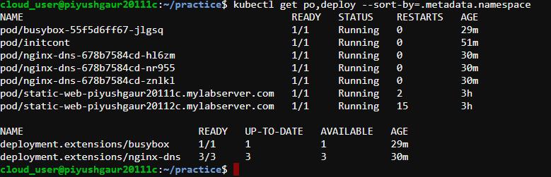 Sorting Output In Kubernetes – WarDaddy – Medium