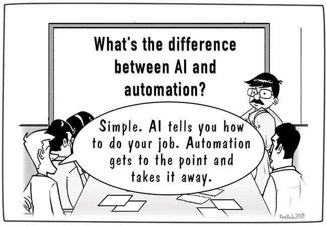 AI vs Automation