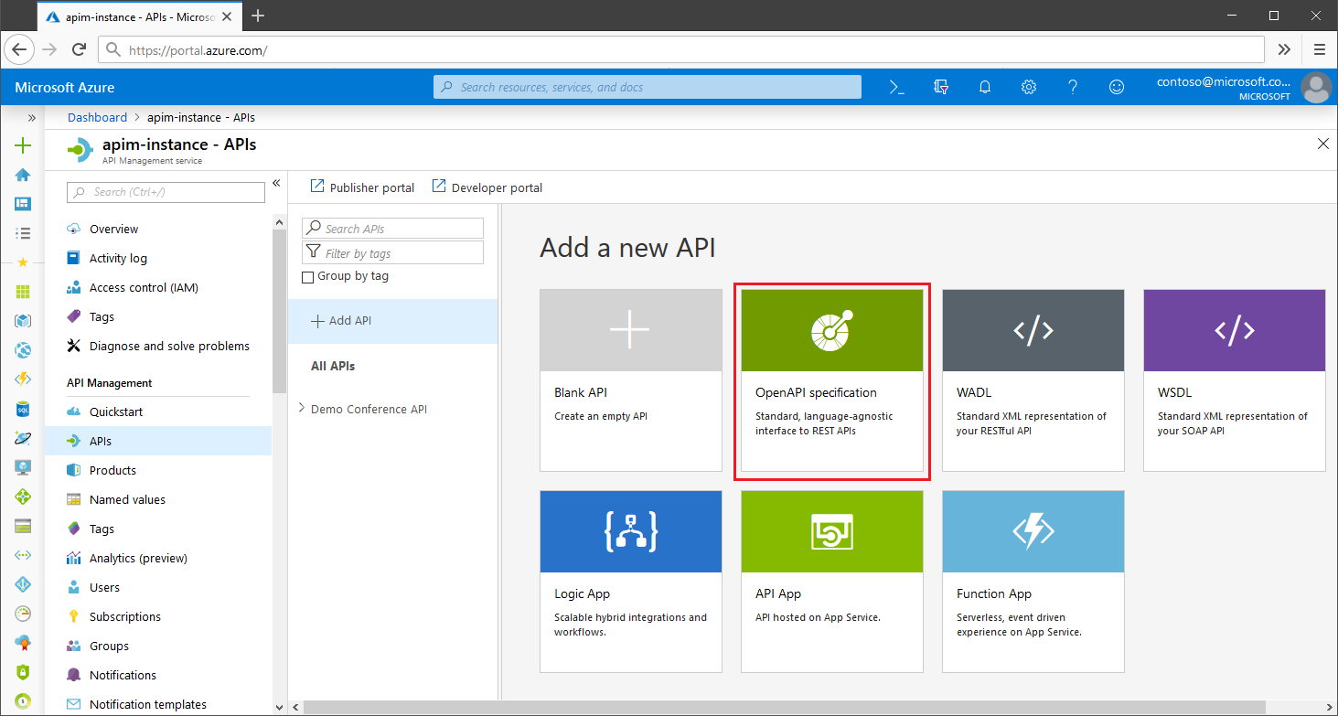 Announcing the preview of OpenAPI Specification v3 support in Azure API Management