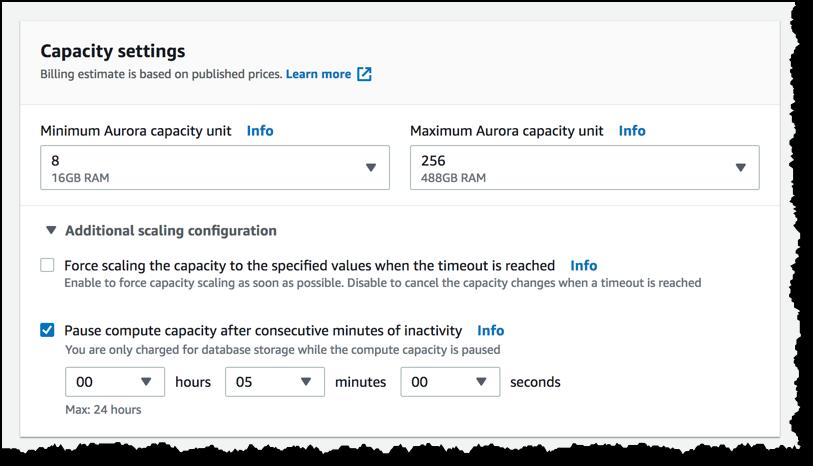 Amazon Aurora PostgreSQL Serverless – Now Generally Available