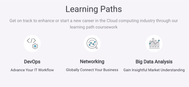 Get Certified as a Professional, follow the Alibaba Cloud Learning Path