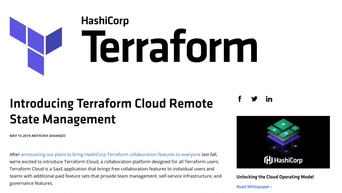 How To Setup Terraform Cloud Remote State