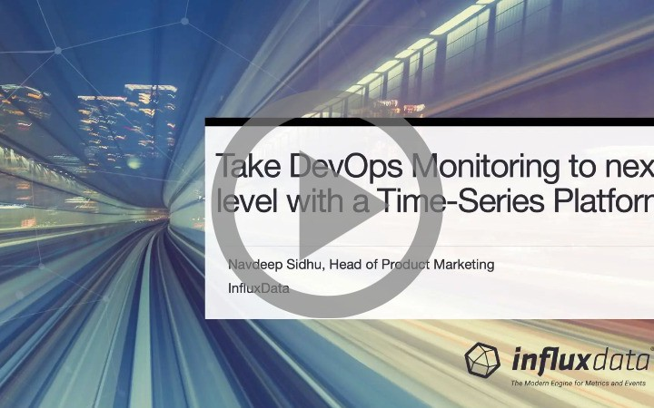 Take DevOps Monitoring to Next Level With a Time-Series Platform