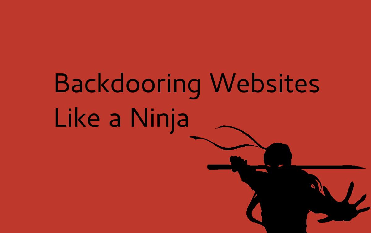 Backdooring Websites with just 35 bytes – Somdev Sangwan – Medium